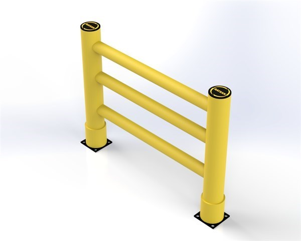 3R Rack and Wall Protection Barrier System