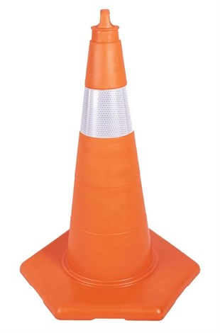 50 cm Unbreakable Traffic Cone (With Reflective)