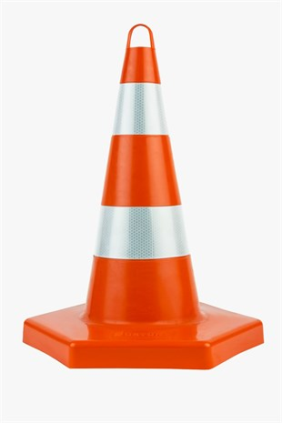 52 cm Unbreakable Traffic Cone (Double Reflective)