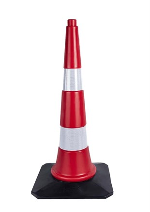 75 Unbreakable Traffic Cone (Double Reflective) WEIGHTED