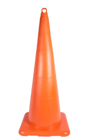 90 cm Unbreakable Traffic Cone (Without Reflective)