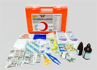 IY-071 Wall Mountable Ultra Plastic Workplace First Aid Kit