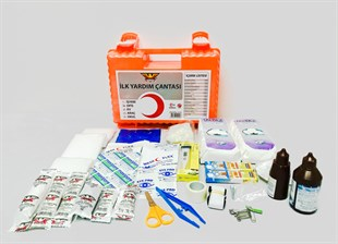 IY-072 Wall Mountable Ultra Plastic Workplace First Aid Kit